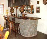 122 main road greyton accommodation guest bar area