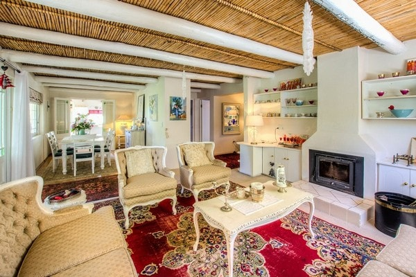 Bay Tree Cottage Greyton Main Lounge Area