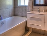 fiore cottage bathroom with bath