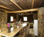 oewerzicht accommodation in greyton guests communal kitchen for tents