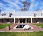 greyton self catering accommodation les terres noires back of house view