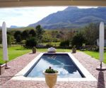 greyton self catering accommodation les terres noires swimming pool