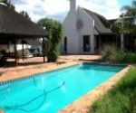 greyton self catering accommodation shady oaks swimming pool
