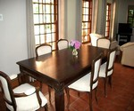 greyton self catering accommodation heron house dining room