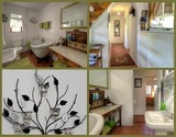 owl lodge cottage greyton main en-suite bathroom