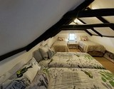 owl lodge cottage greyton loft bedroom
