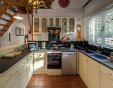 owl lodge greyton guest kitchen