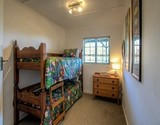 owl lodge greyton bedroom with double bunk