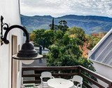sunset house accommodation greyton mountain view from loft