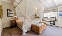 the earthy inn greyton king size bed